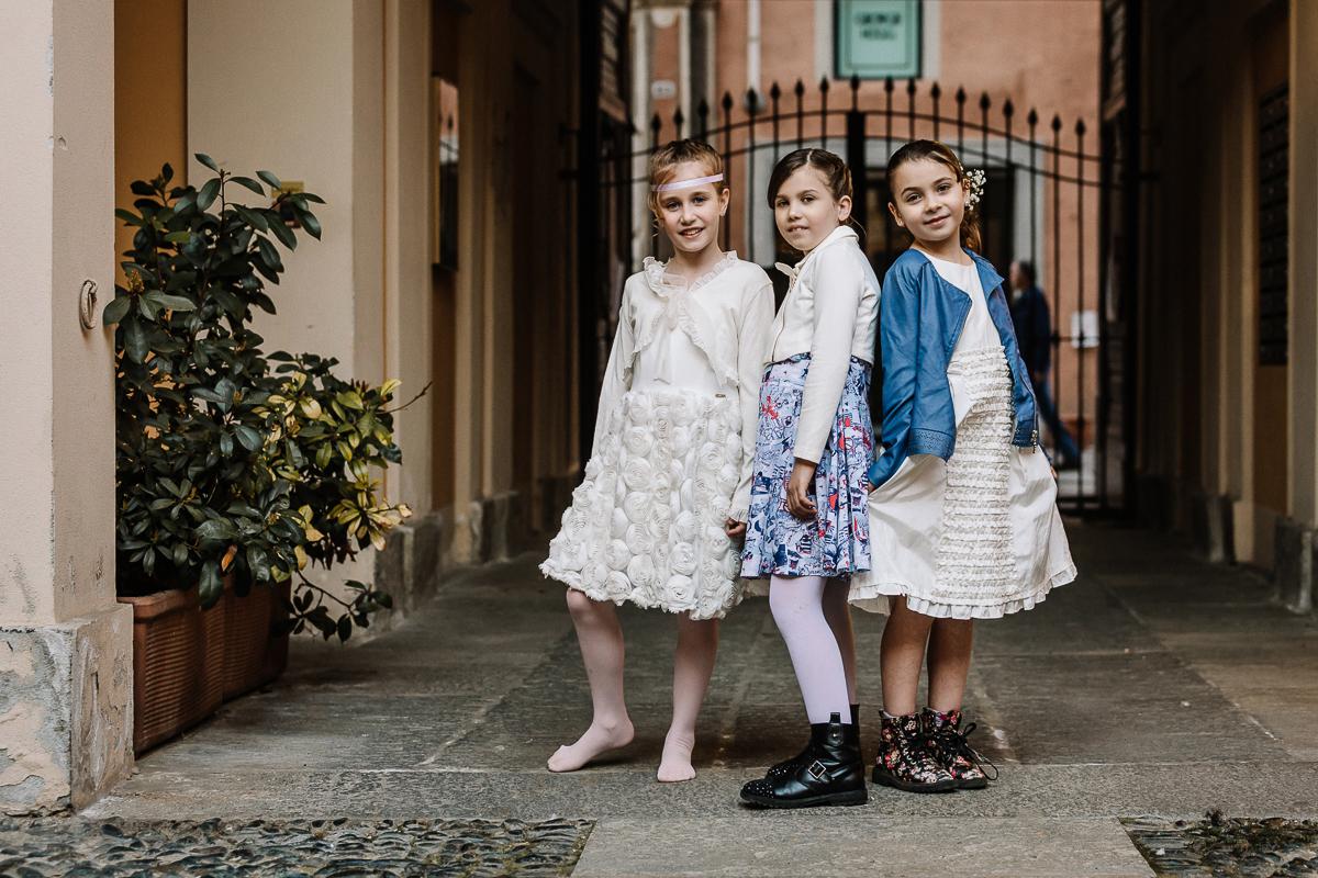 Ritratti bambine,Prima Comunione,acconciature e abiti
