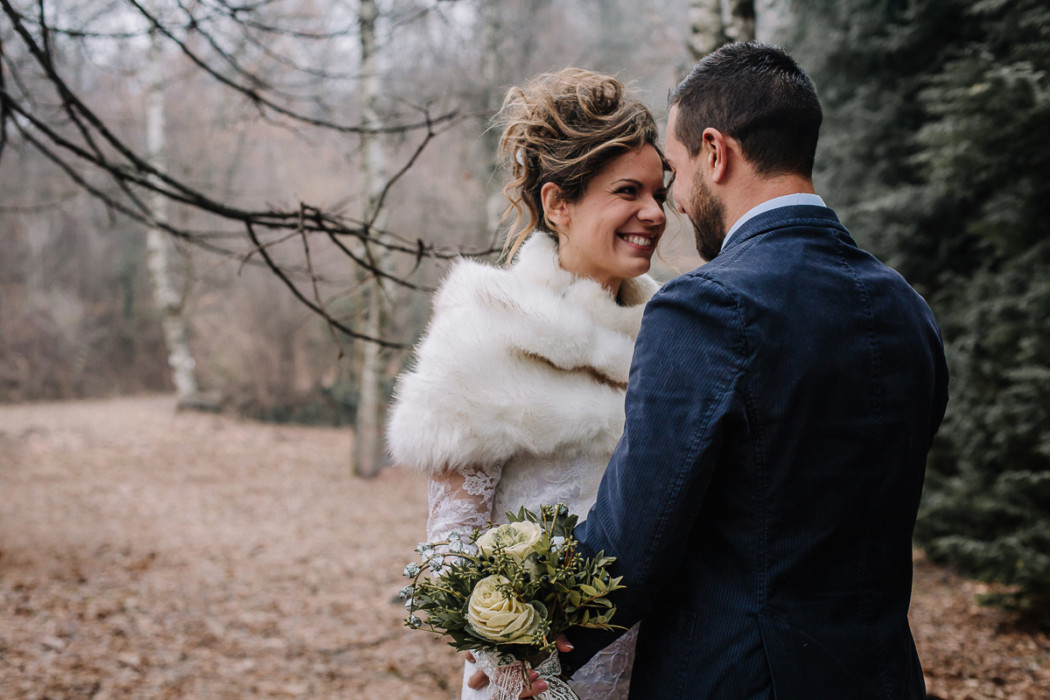 Winter elopement, sulla collina torinese,Superga,Carolina e Gabriele
