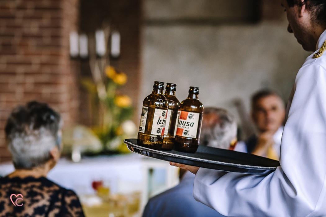 Matrimonio a La morra, aperitivo