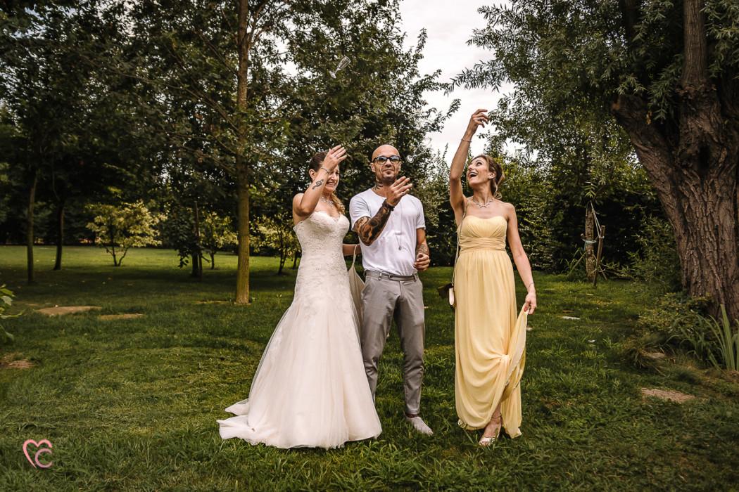 Matrimonio a La morra, aperitivo,