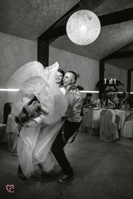 Matrimonio a La morra, ricevimento,