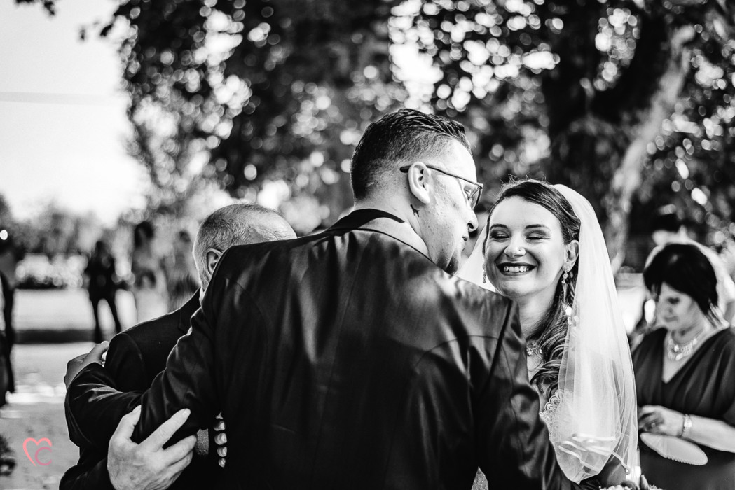 Matrimonio a La morra, cerimonia