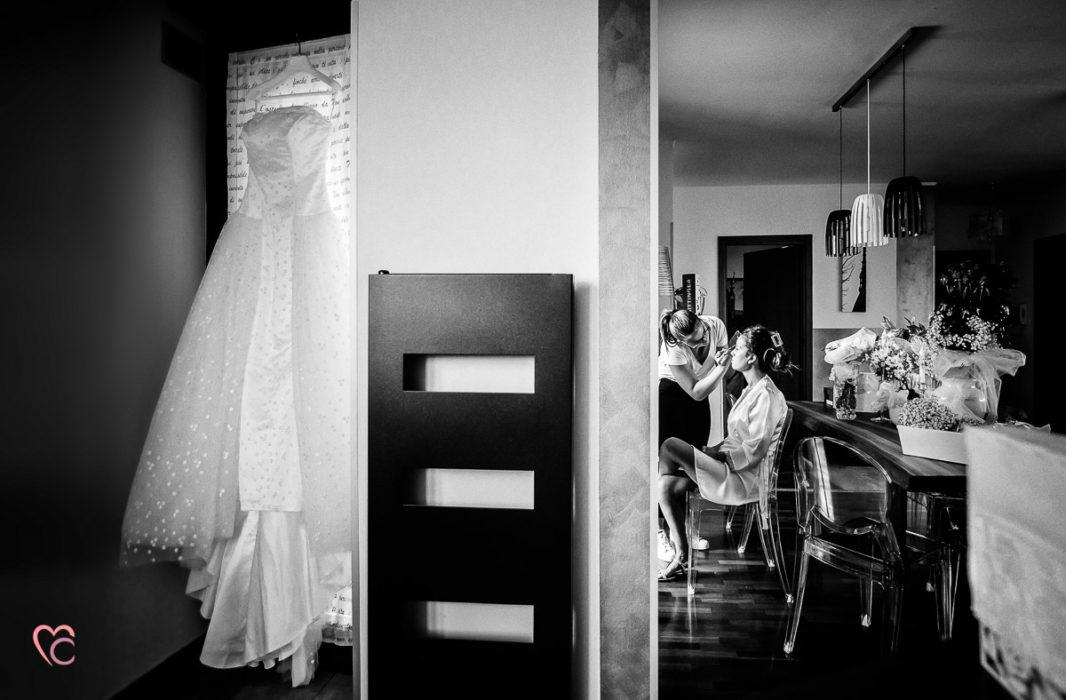 Fotografo matrimonio Chieri, matrimonio a Chieri, preparazione della sposa