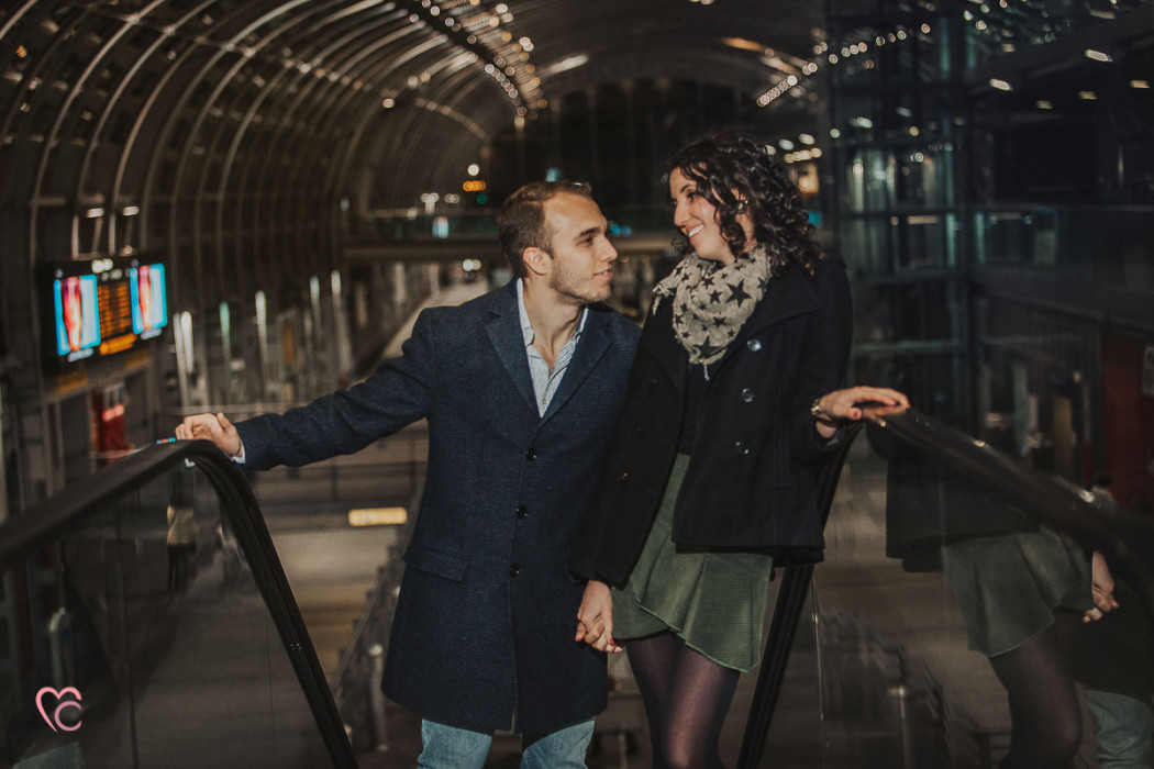 Fotografo di coppia a Torino, servizio di coppia a Torino Porta Susa