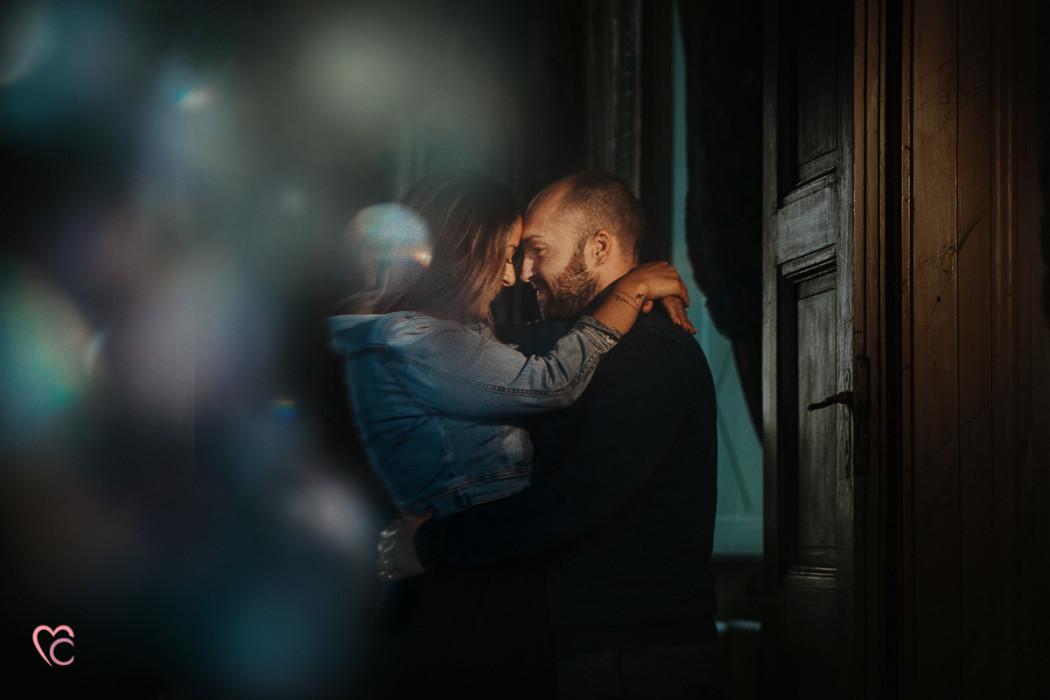 Fotografo matrimonio Torino, servizio fotografico prewedding a Villa Simeom di Giulia e Denis
