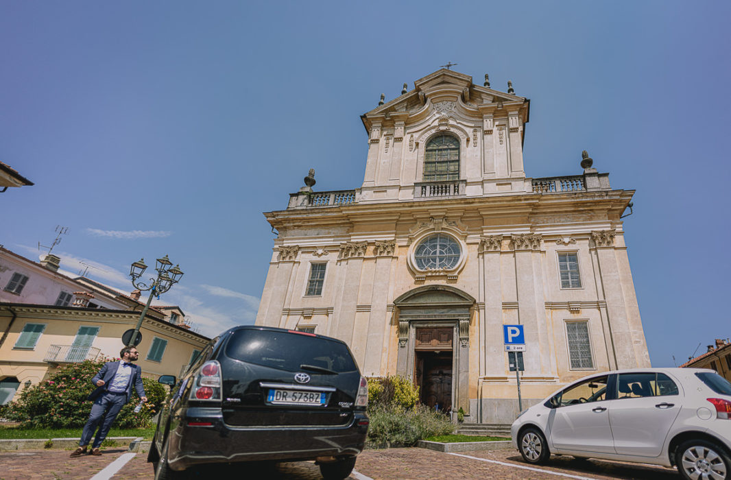 Matrimonio nella Chiesa della Madonna del Rosario di Strambino, bohochic, estate, luglio, cerimonia