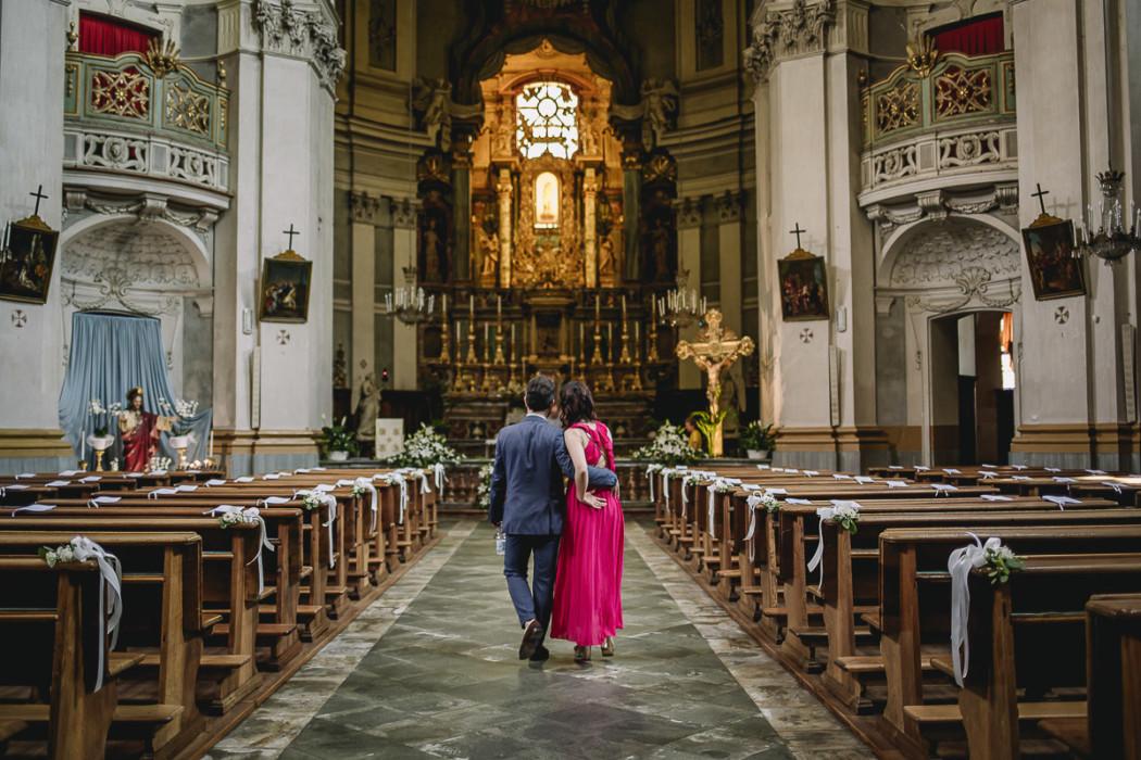 Matrimonio nella Chiesa della Madonna del Rosario di Strambino, bohochic, estate, luglio, cerimonia, invitati
